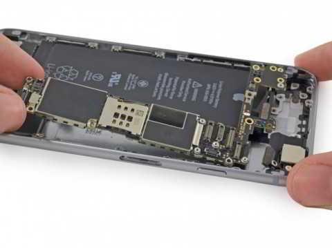 iPhone 6s из запчастей собрали и включили