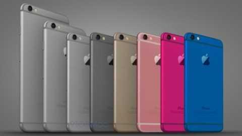 Симпатичный концепт цветного iPhone 6c