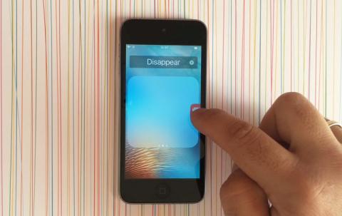 Как скрыть любую иконку на домашнем экране iOS 9 без джейлбрейка [видео]