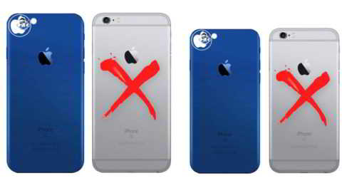 Модель iPhone 7 в голубом цвете, серых iPhone больше не будет
